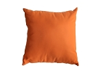 Sunbrella Throw pillow in Canvas Tangerine 5406