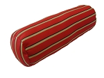 Bolster Pillow in Sunbrella Harwood Crimson 5603