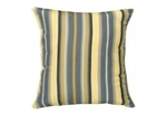 Sunbrella Throw pillow in Foster Metallic 56051