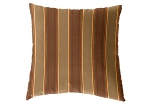 Sunbrella Throw pillow in Davidson Redwood 5606