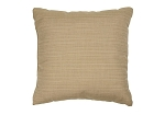 Sunbrella Throw pillow in Dupione Sand 8011