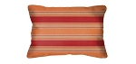 Lumbar Pillows in Sunbrella Bravada Salsa 5601 (Set/2)
