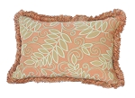 Sunbrella Lumbar Pillow with Fringe
