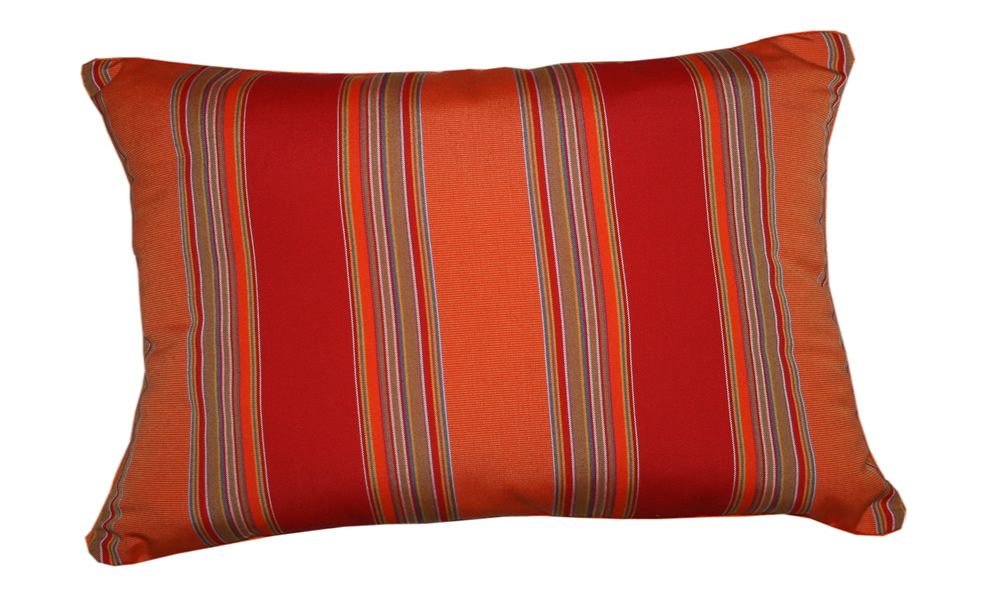 Lumbar Pillow Indoor Outdoor 18 Quot X12 Quot Sunbrella Stripe