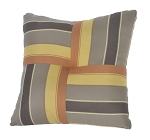 Quilted Throw Pillow Indoor/Outdoor 20