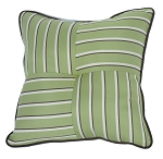 Quilted Throw Pillow Indoor/Outdoor 24