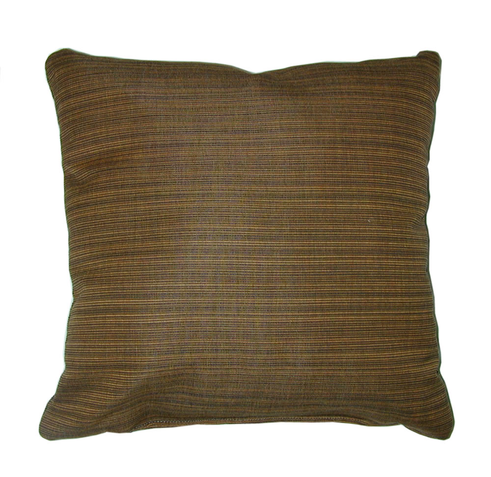 Throw Pillow Indoor Outdoor 17 Quot Square Sunbrella Stripe