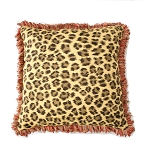 Sunbrella Throw Pillow with F