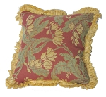 Sunbrella Throw Pillow with Fringe