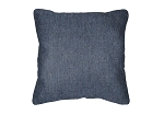 Sunbrella Throw pillow in Heritage Denim 18010