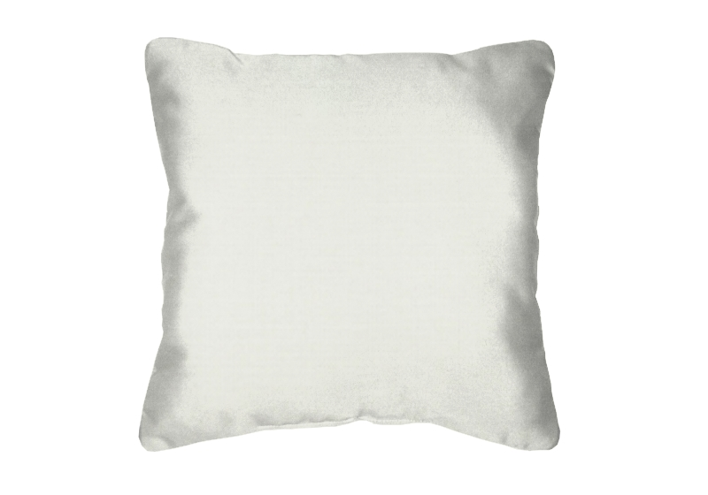 Throw Pillow in Sunbrella Sailcloth Salt 32000-0018