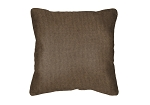 Throw Pillow in Sunbrella Flagship Pecan 40014-0005