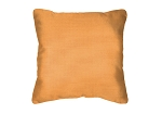 Throw Pillow in Sunbrella Flagship Mango 40014-0018