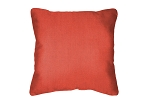 Sunbrella Throw pillow in Flagship Persimmon 40014-0039