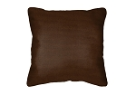 Throw Pillow in Sunbrella Flagship Baybrown 40014-0059