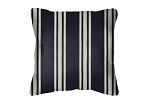 Sunbrella Throw pillow in Hampton Indigo 40308-0001