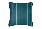 Throw Pillow in Sunbrella Cha Cha Lagoon 40329-0007