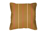 Throw Pillow in Sunbrella Cha Cha Sunset 40329-0009