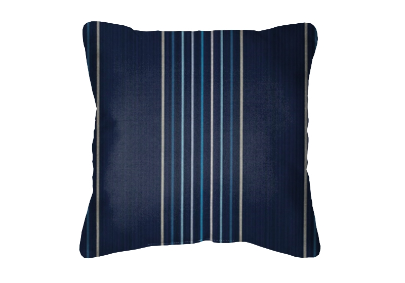 Throw Pillow in Sunbrella Viento Nautical 40332-0006