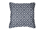 Sunbrella Throw pillow in Luxe Indigo 45690