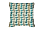 Throw Pillow in Sunbrella Bingham Lagoon 45789-0001