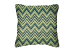Throw Pillow in Sunbrella Fischer Lagoon 45885-0000
