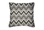 Throw Pillow in Sunbrella Fischer Graphite 45885-0004