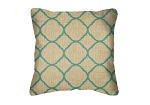 Throw Pillow in Sunbrella Accord Jade 45922-0000