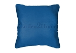 Throw Pillow in Sunbrella Canvas Pacific Blue 5401