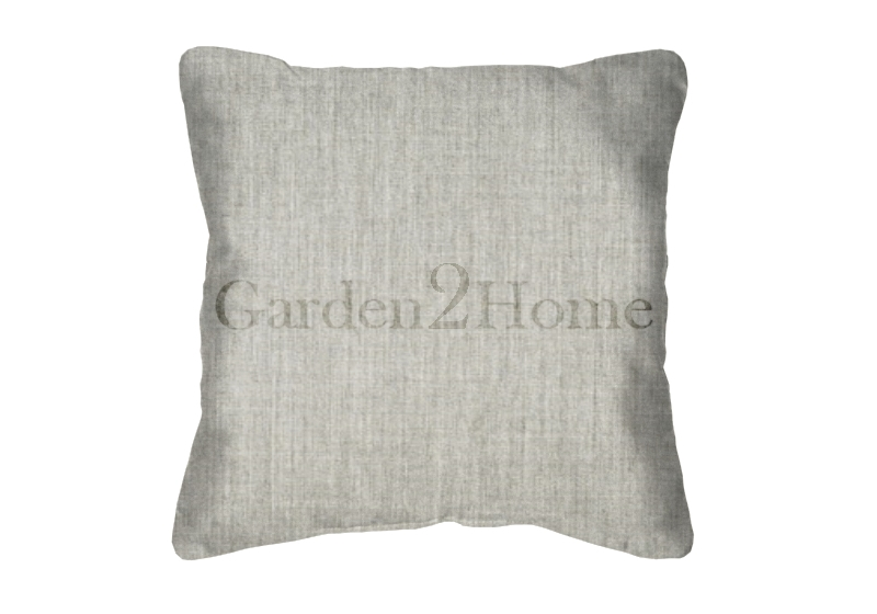 Throw Pillow in Sunbrella Canvas Granite 5402