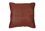 Sunbrella Throw pillow in Canvas Henna 5407