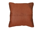 Sunbrella Throw pillow in Canvas Brick 5409