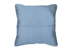 Throw Pillow in Sunbrella Canvas Air Blue 5410