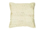 Throw Pillow in Sunbrella Linex Vellum 5411