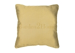 Throw Pillow in Sunbrella Canvas Wheat 5414