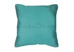 Throw Pillow in Sunbrella Canvas Aruba 5416