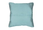 Throw Pillow in Sunbrella Canvas Mineral Blue 5420