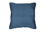 Throw Pillow in Sunbrella Canvas Sky Blue 5424