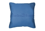 Throw Pillow in Sunbrella Canvas Capri 5426