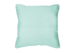 Throw Pillow in Sunbrella Canvas Glacier 5428