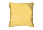 Throw Pillow in Sunbrella Canvas Buttercup 5438