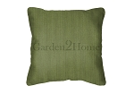 Throw Pillow in Sunbrella Canvas Turf 5447