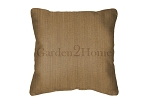 Throw Pillow in Sunbrella Canvas Cork 5448
