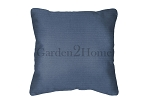 Throw Pillow in Sunbrella Canvas Sapphire Blue 5452