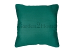 Throw Pillow in Sunbrella Canvas Teal 5456