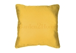 Sunbrella Throw pillow in Canvas Sunflower 5457