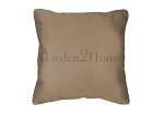 Throw Pillow in Sunbrella Canvas Camel 5468