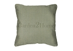 Throw Pillow in Sunbrella Canvas Stone Green 5473