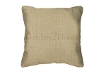 Throw Pillow in Sunbrella Canvas Heather Beige 5476