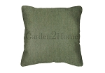 Throw Pillow in Sunbrella Canvas Fern 5487